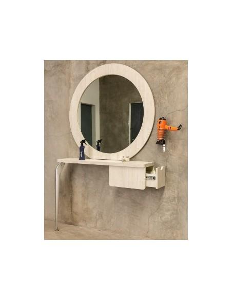 Tocadores con espejo individuales